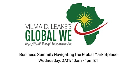 Business Summit: Navigating the Global Marketplace tickets
