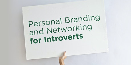 Personal Branding and Networking for Introverts tickets