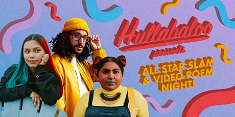 Hullabaloo All Star Slam 2021 and Individual Videopoem Festival tickets