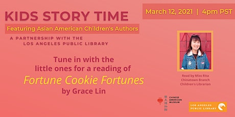Kids Story Time Featuring Asian American Children's Authors tickets
