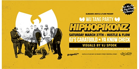 HIPHOPIKONZ Vol.2: Wu-Tang Party tickets