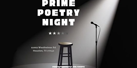 Prime Poetry Night tickets