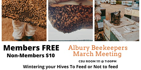 Albury Beekeepers March Meeting tickets