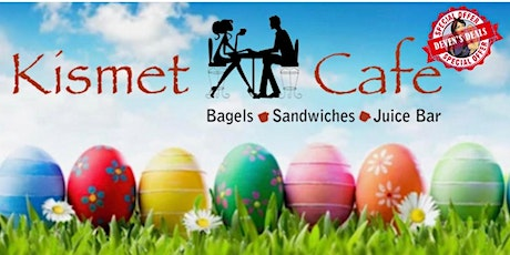 Deven's Deals Hopping Crafts Event at Kismet with the Easter Bunny - 3/20! tickets