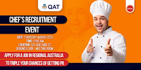 Chef's Recruitment event tickets