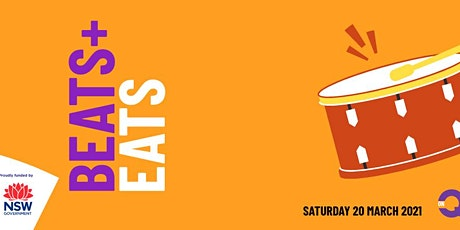 Beats and Eats  Drumming Workshop -Suara Indonesian Dance Group tickets
