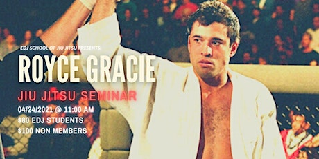 Royce Gracie Seminar tickets