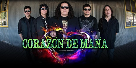 Mana Tribute by Corazon  De Mana - The Canyon Montclair tickets