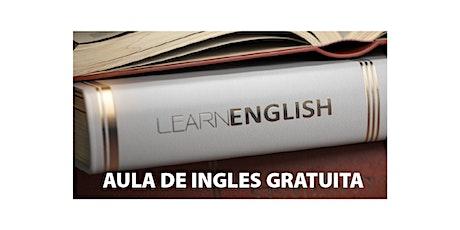Aula demonstrativa de Inglês - GRATUITO ingressos