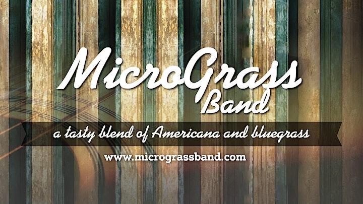 An Evening w/ MICROGRASS (Bluegrass/Americana) Followed by WESTROCK (9:10) image
