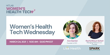 Women's Health Tech Wednesday | Ann Garnier, Lisa Health tickets