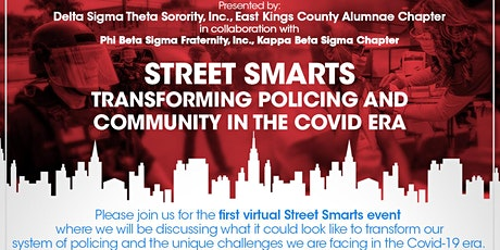 Street Smarts 2021: Transforming Policing and Community in the Covid Era biglietti