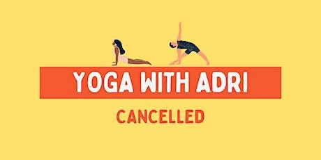 Yoga with Adri tickets