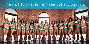 The Celtics Dancers and G2O Spa + Salon Salute Mom's...