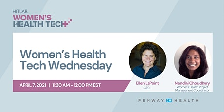 Women's Health Tech Wednesdays | Fenway Health tickets