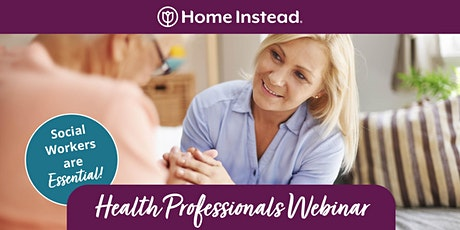 Health Professionals Webinar - Social Workers are Essential tickets