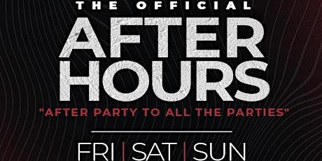 ALLSTAR TAKEOVER 2021 // The Official AfterHours // Babylon Atlanta tickets