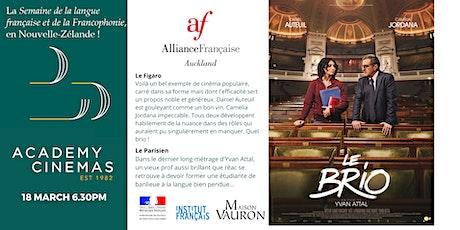 French Movie Night Le Brio :  Alliance Française Auckland Francophonie 2021 tickets