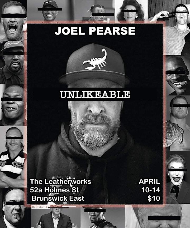 JOEL PEARSE - UNLIKEABLE image