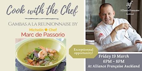 Cooking Workshop by Marc de Passorio tickets
