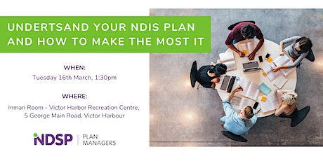 Copy of Understand your NDIS Plan and how to make the most of it! tickets