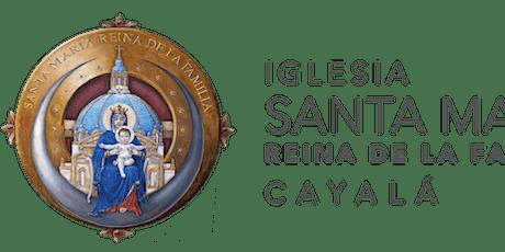 Santa Misa ISMRF del 6  al 13 Marzo 2021 boletos
