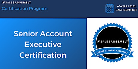 Sales Assembly Senior Account Executive Certification tickets