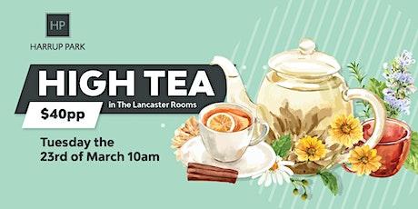 High Tea at Harrup Park tickets