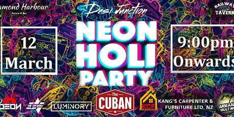 Neon Holi Party 2021 tickets