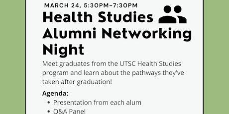Health Studies Alumni Networking Event tickets