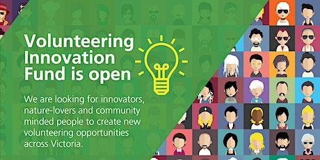 Volunteering Innovation Fund Round 2 - Community Information Session tickets
