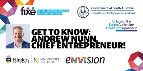 FiXE Drop In Sessions @ NVI | Meet the Chief Entrepreneur tickets