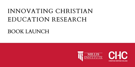 Book Launch - Innovating Christian Education Research tickets