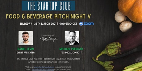 Food & Beverage Pitch Night V tickets