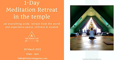 One-Day Temple Silent Retreat tickets