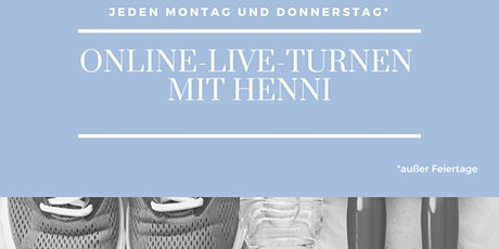 Online-Live-Turnen mit Henni | DO Tickets