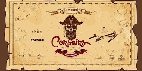 Corsairs Take The Yot Club  - Brisbane tickets