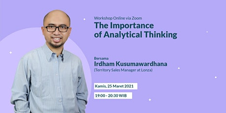 The Importance of Analytical Thinking tickets