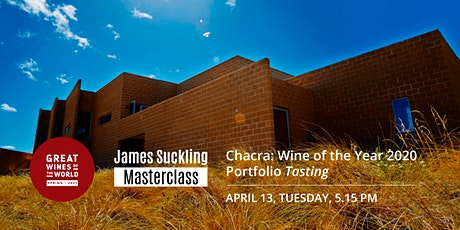 Masterclass: Patagonia's Chacra (Wine of the Year 2020) Portfolio Tasting tickets
