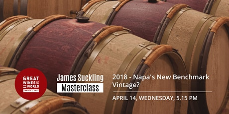 Great Wines of the World Masterclass: Napa's New Benchmark Vintage: 2018 tickets