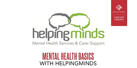 Mental Health Basics with HelpingMinds tickets