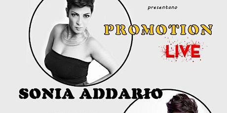 Promotion LIVE- Concerto  Sonia Addario biglietti
