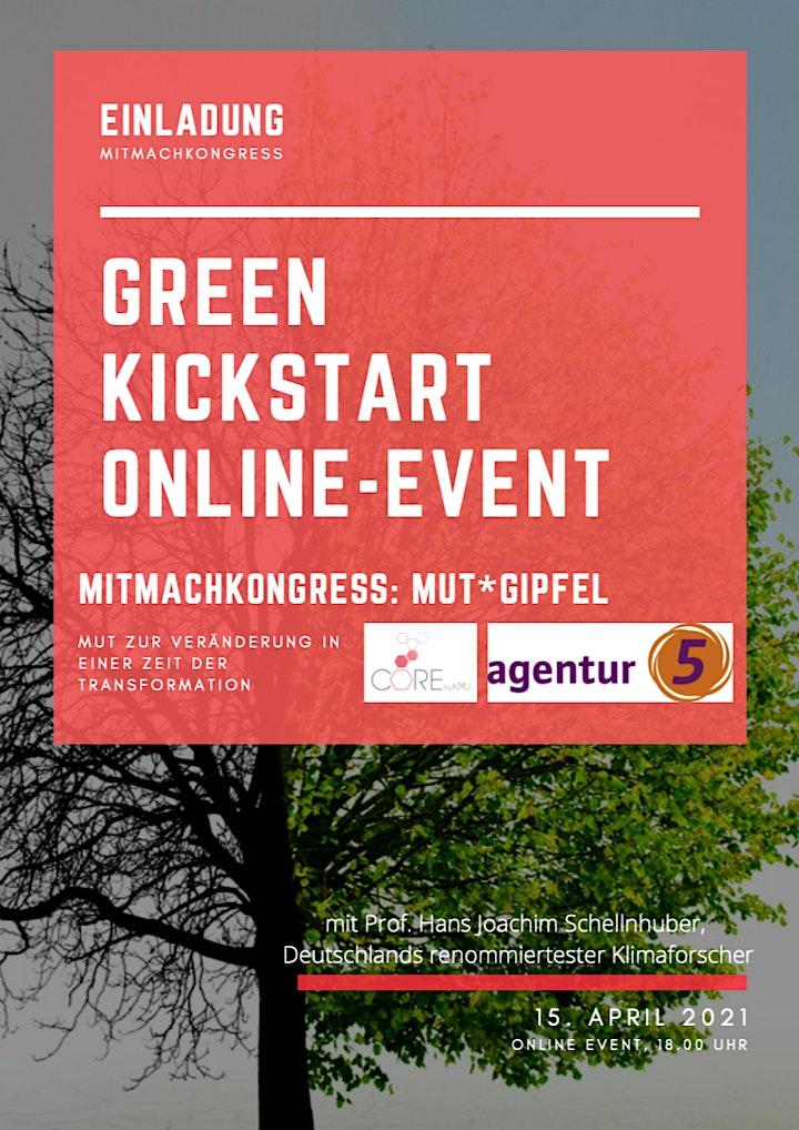 Green Kickstart online  Event - Mut*Gipfel: Bild