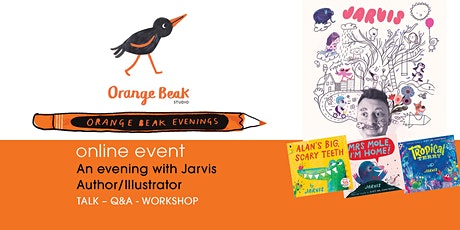 Online talk and Q&A with Author / Illustrator Jarvis tickets