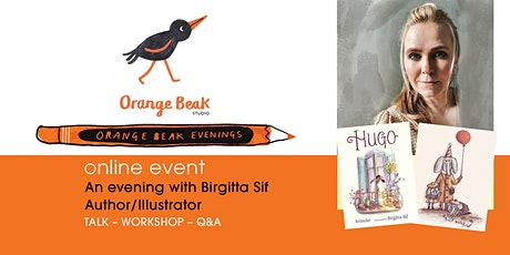 Online talk and Q&A with Author / Illustrator Birgitta Sif tickets