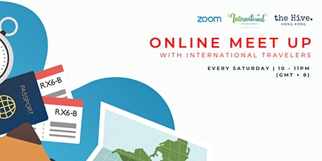Online: Meet Up with International Travellers tickets