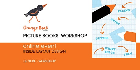 Orange Beak Picture Books: Insides Layout Design Workshop tickets