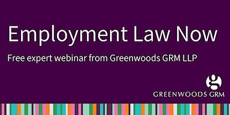 Employment Law Now : Free Webinar tickets