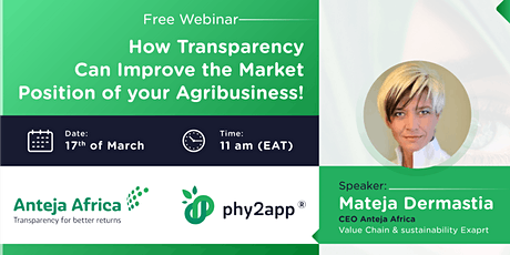 How Transparency can improve the Market Position of your Agribusiness Tickets
