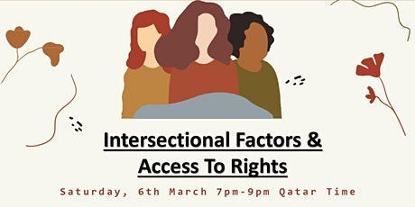 Intersectional Factors and Access To Rights tickets